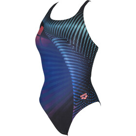 arena Arena One Ares One Piece Swimsuit Dames, black-multi
